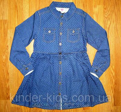 Джинсовые рубашки-платья для девочек Glo-Story Венгрия 26e7e2b639d4a