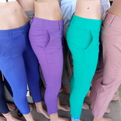 Женские стрейчевые брюки от 40 до 60 размера
