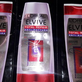 Акция 5+5! Большой курс восстановления волос Loreal Elvive total repair Italy! 100% Оригинал!
