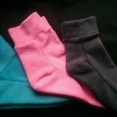 СП по флисовым носкам, шарфам-хомутам, манишкам, шапкам. Размеры от малышовых до взрослых. От 35грн.
