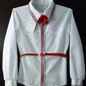 СП Красивые блузочки с вышивкой. размеры 128-152.