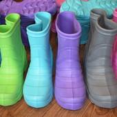 Срочно!!!!! Остатки со склада!Детские резиновые сапожки из пенки рр. 31 - 34.