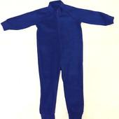 СП  очень теплый Флисовый комбез, поддева, пижама. р 92 -122. Без сбора ростовки.
