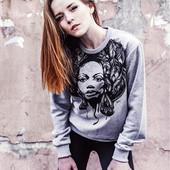Качественные Женские и Подростковые футболки, свитшоты с Авторскими принтами! 100% хлопок!