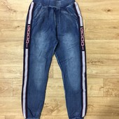 Срочное СП! Выкуп-отправка каждый день ! Крутые джоггеры мальчикам коттон под джинс на рост 104-164