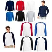 Поло и футболки с длинным рукавом  Froot of the loom! Супер цена!Відправка в день оплати і нп і уп!!