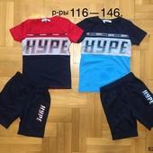 Срочный выкуп! Акция на складе! Костюмы комплекты и футболки для мальчиков на рост 98-164см. Венгрия