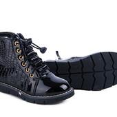 ☆Выкуп по старой цене!!!☆☆Деми ботиночки!синие и черные 31-36 рры.качество классное.