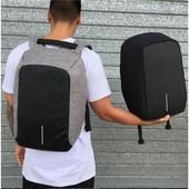 !Умный рюкзак антивор bobby xd бобби с Usb зарядкой и Швейцарский городской рюкзак SwissGear