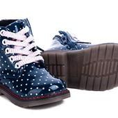 Скидки!!! Демисизонные ботиночки для девочек.