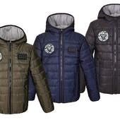 Весенняя куртка для мальчика р.116-164