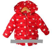 Демисезонная курточка Котики 2-3-4-5 лет.