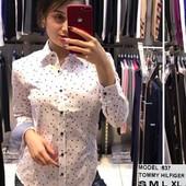 Рубашки женские Турция Коттон - комуфляж, клетка, китайский огурец, горошек и однотон. Есть скидка!