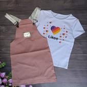 Одежда для девочек, сбор ростовок.