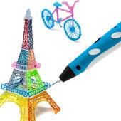 3D-ручка ( 3Д ручка) 3D Pen 2 поколения. Есть пластик дополнительно!