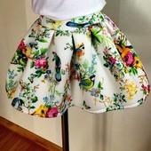 Очень красивые, весенние юбочки и футболочки для девочек,  рост 116-134. Отправка после оплаты.