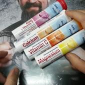 Шипучие таблетки-витамины 20 шт. Германия 7 видов