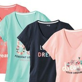 Женские футболки Esmara новые!! 95 грн! Германия
