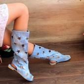 Крутая и стильная обувочка на лето! отправка напрямую со склада после оплаты!