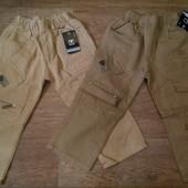 Коттоновые штаны/брюки на резинке и с евро резикой!Сезон - весна!