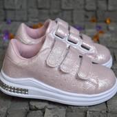 Модные кроссовочки для девочек. Размеры 26-37