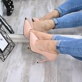 Туфли женские Genna пудра