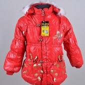 Курточки демисезон, для девочек и мальчиков! Размеры от 3 лет до 12.