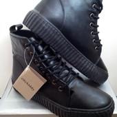 Новый сбор! Крутые,стильные утепленные ботинки с 36 по 41 р Турция!