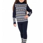 Заказ 7.12-Вязаные свитера для мальчиков и девочек. Можно сделать комплект с гамашами.