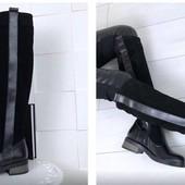 Новинки СП натуральные кожаные и замшевые сапоги, ботфорты. Зима, деми и евро зима. Разные модели.
