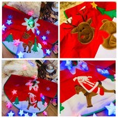 Выкуп 18.10!!! Коврик под елку, рождественский носок. Реальные фото