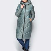 Зимний пуховик очень удобный Goods Fancy реальные фото р. 44-54 разные цвета