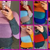 Только один день!!! цена снижена!! Теплющие свитера на р. 42-48 (единый размер)