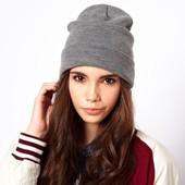 Трендовые универсальные шапки , качество!Базовая вещь в гардеробе! Шерсть+акрил, новые цвета!