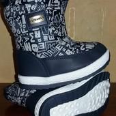 Ботинки дутики для мальчика