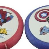 Аэромяч, детский электрический  мяч  Hoverball (fly ball) Супергерои Музыка + свет