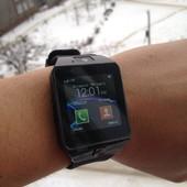 Улучшена модель Смарт-часы (smart watch) умные часы dz09 black На кашалоте 90 отзывов