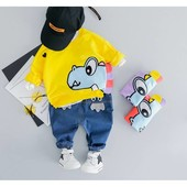 Крутые костюмы для модных мальчиков Размер 80-120см Отправка сразу после оплаты