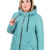 2 Модели. Женские демисезонные куртки в размерах 50-60. Собираю заказ.