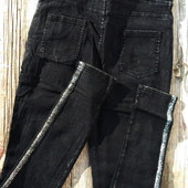 Выкуп от 1ед Утепленные джинсы скинни джеггинсы леггинсы на байке с лампасами