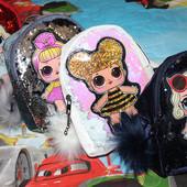 Выкуп 21.03!!! Рюкзачки LoL с паетками и мигающими глазками!!!