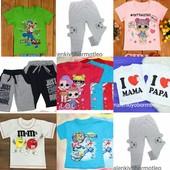 Весна/лето!  Футболки, шорты,  штанишки для деток