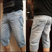 Мужские класические джинсовые шорты.Качество-огонь!