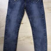 Джеггинсы,джинсы для девочки 116-164 см.