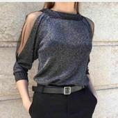 Новинки кофти блузи штапель світерки кардігани кофти від 44 по 58р якість супер!