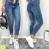 Красивие женские джинси на шнурке!