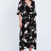 Шикарное платье-кимоно! в модный принт! Рубашечки, кофточки