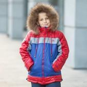Зимнии куртки на мальчиков 32-40р.распродажа!