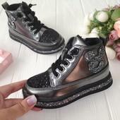 Классные деми ботиночки для девочек. Размеры 26-31