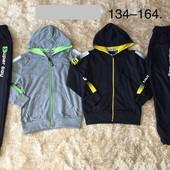 Остатки +сбор!Спортивные костюмы для мальчиков Венгрия 98-164!три вида!